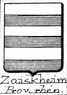 Zaiskheim Coat of Arms / Family Crest 0