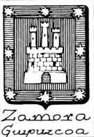 Zamora Coat of Arms / Family Crest 1