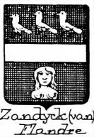 Zandyck Coat of Arms / Family Crest 0