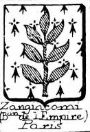 Zangiacomi Coat of Arms / Family Crest 0