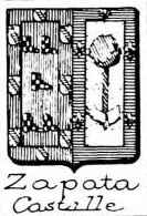 Zapata Coat of Arms / Family Crest 2