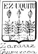 Zarauz Coat of Arms / Family Crest 0