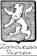 Zavarisa Coat of Arms / Family Crest 0