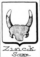 Zinck Coat of Arms / Family Crest 10
