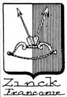 Zinck Coat of Arms / Family Crest 11
