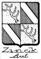 Zinck Coat of Arms / Family Crest 12