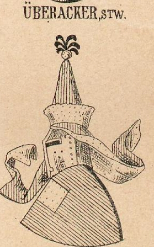 Uberacker Coat of Arms / Family Crest 0