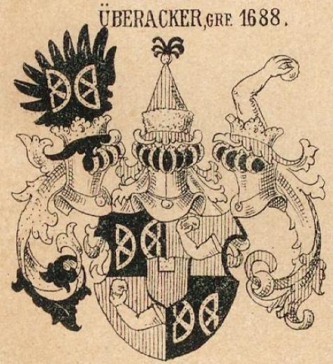 Uberacker Coat of Arms / Family Crest 1