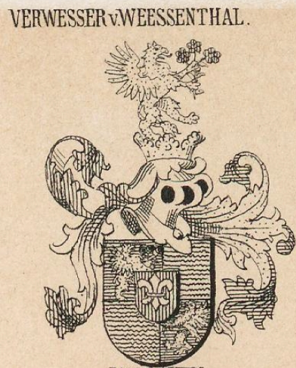 Verwesser Coat of Arms / Family Crest 0