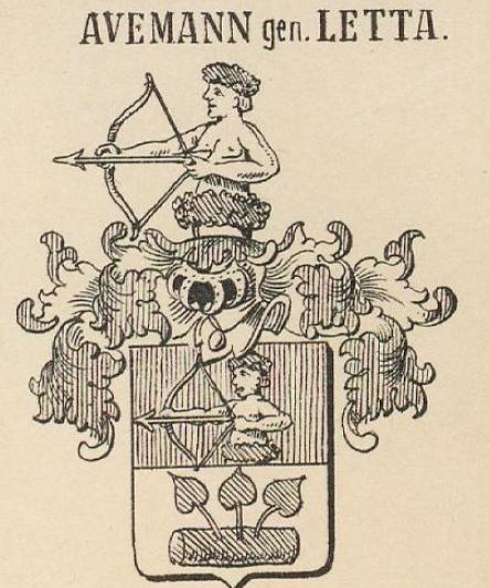 Avemann Coat of Arms / Family Crest 0
