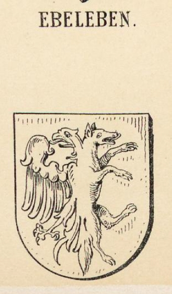 Ebeleben Coat of Arms / Family Crest 2