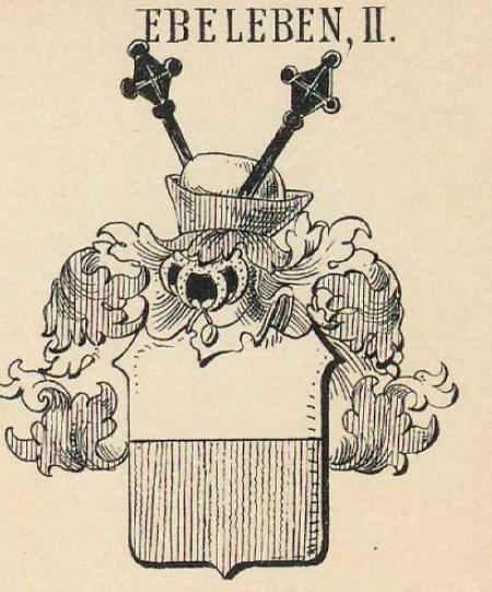 Ebeleben Coat of Arms / Family Crest 3