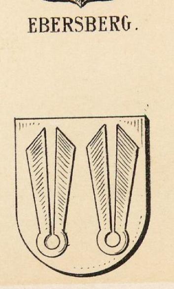 Ebersberg Coat of Arms / Family Crest 2