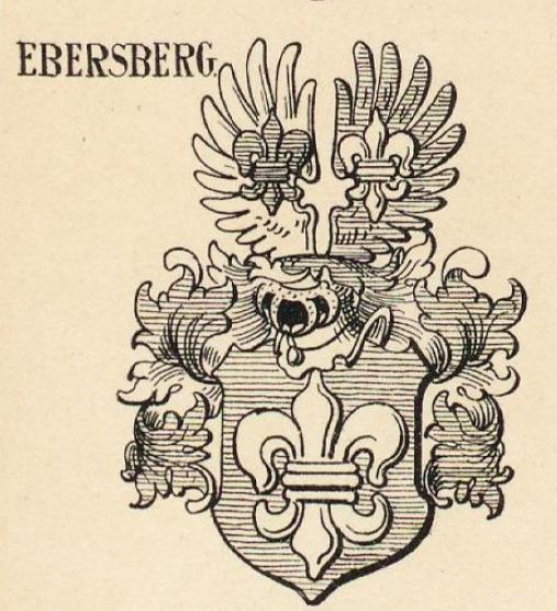 Ebersberg Coat of Arms / Family Crest 3