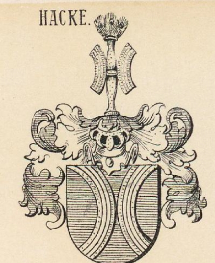 Hacke Coat of Arms / Family Crest 15
