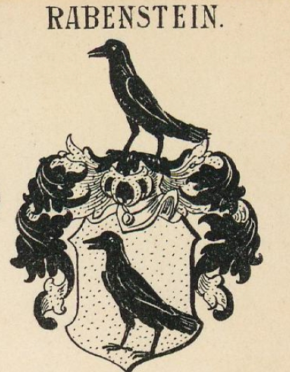 Rabenstein Coat of Arms / Family Crest 1