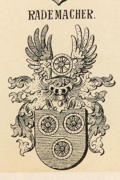 Rademacher Coat of Arms / Family Crest 0