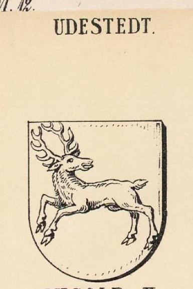 Udestedt Coat of Arms / Family Crest 0