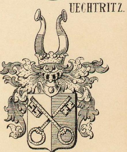 Uechtritz Coat of Arms / Family Crest 2