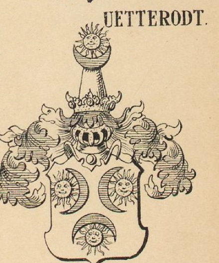 Uetterodt Coat of Arms / Family Crest 0