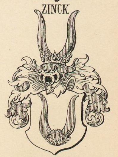 Zinck Coat of Arms / Family Crest 3