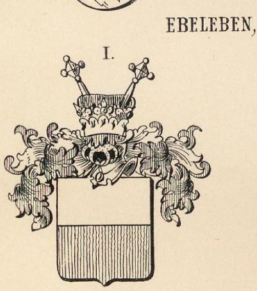 Ebeleben Coat of Arms / Family Crest 5