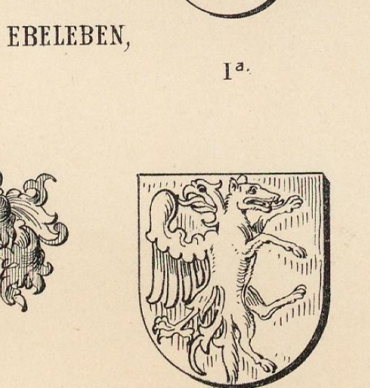 Ebeleben Coat of Arms / Family Crest 6