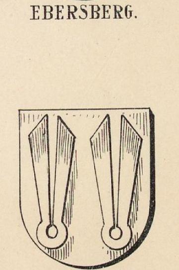 Ebersberg Coat of Arms / Family Crest 11