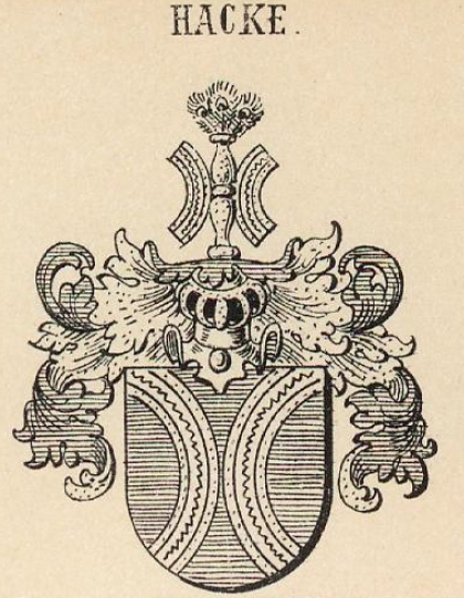 Hacke Coat of Arms / Family Crest 29