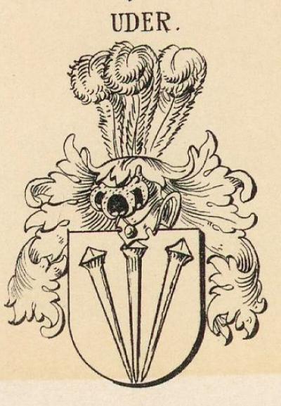 Uder Coat of Arms / Family Crest 3