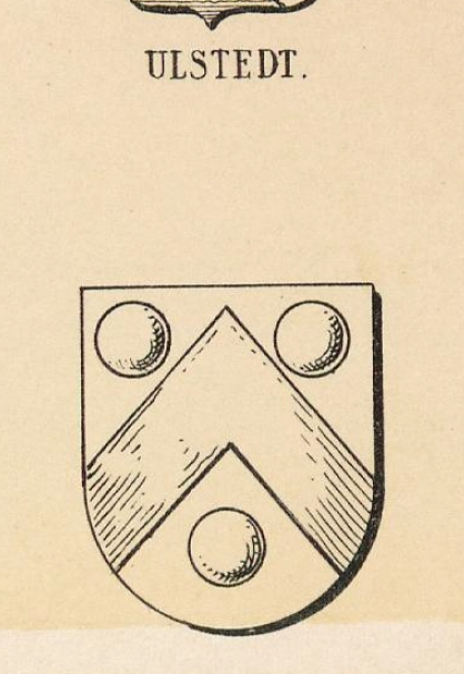Ulstedt Coat of Arms / Family Crest 1