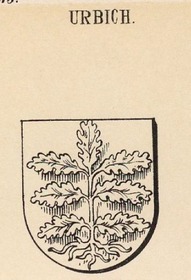 Urbich Coat of Arms / Family Crest 1