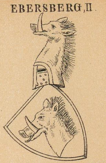 Ebersberg Coat of Arms / Family Crest 5