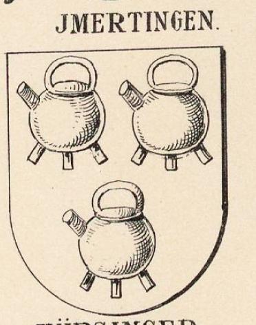 Imertingen Coat of Arms / Family Crest 0