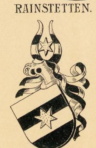 Rainstetten Coat of Arms / Family Crest 0