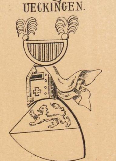 Ueckingen Coat of Arms / Family Crest 0
