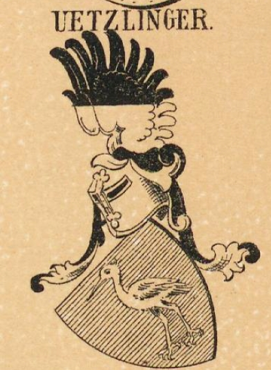 Uetzlinger Coat of Arms / Family Crest 0