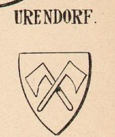 Urendorf Coat of Arms / Family Crest 0