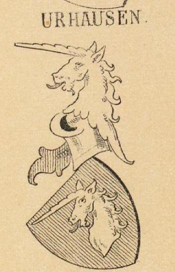Urhausen Coat of Arms / Family Crest 0